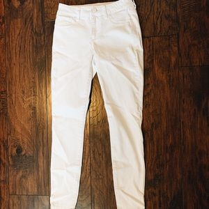 Maurice's white jeggings